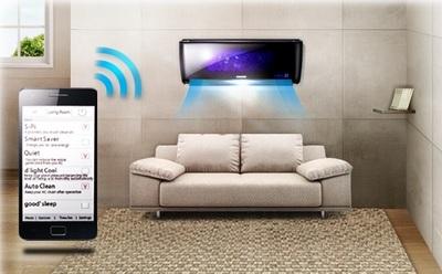 Кондиционеры с Wi-Fi, управляем сплит-системой со смартфона.